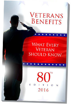 What Every Veteran Should Know: Veterans Benefits, 80th Edition 2016