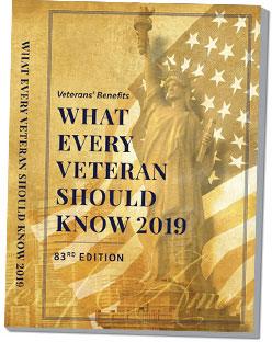 Veterans Benefits: What Every Veteran Should Know 2019, 83rd Edition